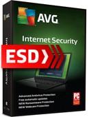 AVG Internet Security 2018 PL (3 stanowiska, 12 miesięcy) - wersja elektroniczna