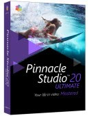 Pinnacle Studio 20 PL Box Ultimate Upgrade - aktualizacja od wersji 9,10,11,12,14,15,16,17,18, 19