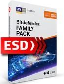 Bitdefender Family Pack 2019 PL (12 miesięcy) - wersja elektroniczna