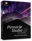 Pinnacle Studio 22 Ultimate PL Box Upgrade - aktualizacja od wersji 9,10,11,12,14,15,16,17,18, 19, 20, 21