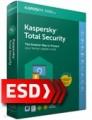 Kaspersky Total Security 2018 PL Multi-Device (2 stanowiska, 12 miesięcy) - wersja elektroniczna