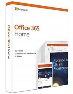 Office 365 PL dla Użytkowników Domowych