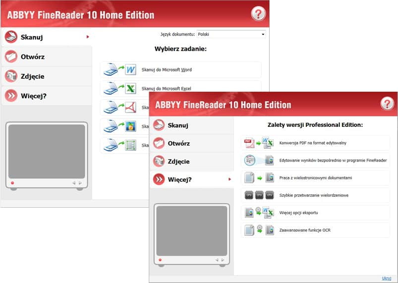 Adobe fine reader pl.