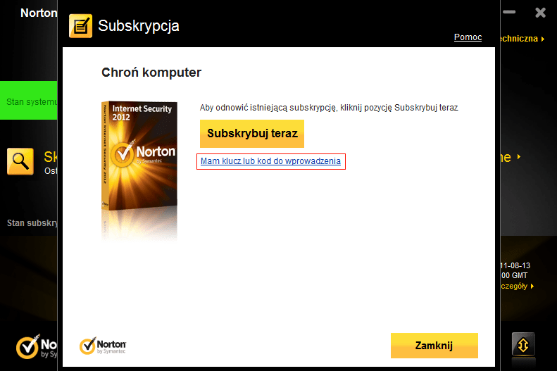 Keygen для norton internet security2012 2000136Norton Internet Security 201