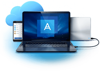Acronis True Image 2017 screen