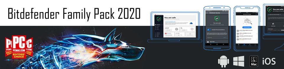 Bitdefender Family Pack 2020 PL (12 miesięcy)