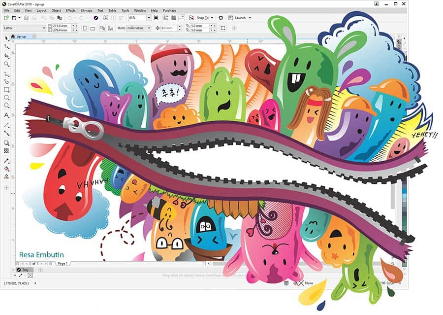 Prezentacja Corel Draw Graphics Suite 2018