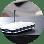 ochrona kamery internetowej i routera
