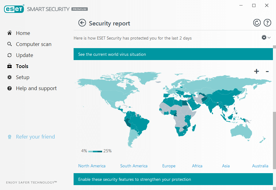 Eset Smart Security premium mapa