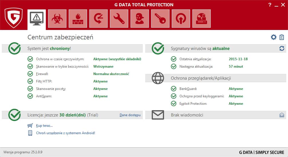 G Data 2017 Total Protection