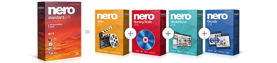 Pakiet Nero 2018 Standard Suite