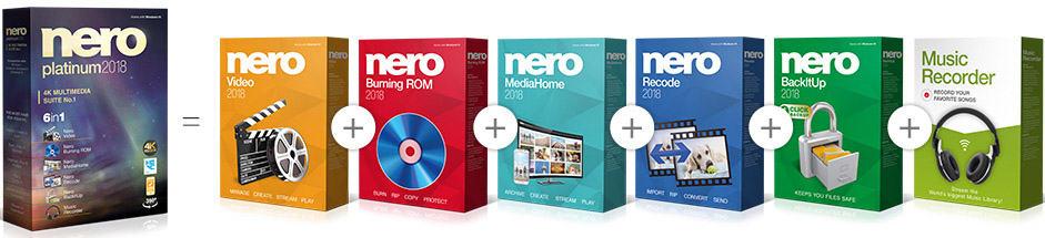 Pakiet Nero 2018 Platinum Suite