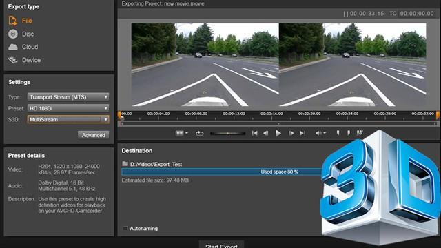 Tworzenie filmów w 3D