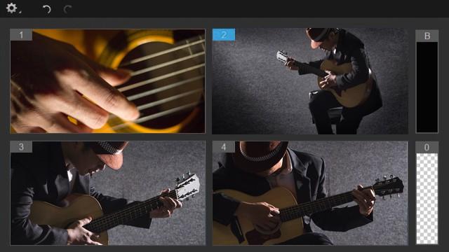 Edycja nagrań z sześciu kamer