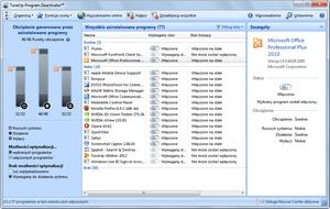 TuneUp Utilities 2012 narzędzia